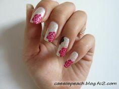 JOSS Crystal Sunbeams x MoYou London Kitty 02 #nails #nailart #nailstamping #MoYouLondon - cassispeach.blog.fc2.com