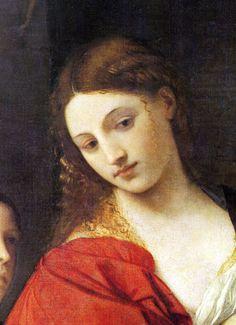 Titian, Salome, detail, 1512, Doria Pamphilj, Rome
