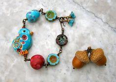 jellybeans bracelet  . . . by marthasrubyacorn on Etsy, $37.00