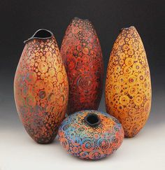 Pinterest Melanie Ferguson etched ceramics - beautiful