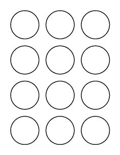 9 printable macaron templates free word pdf format for 9 inch circle template