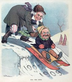 color political cartoons during teddy roosevelt - Google Search