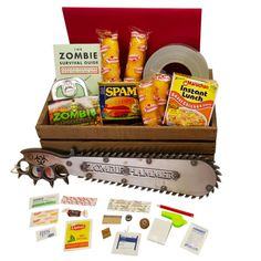 The Zombie Obliteration Crate - This thing is serious!  It comes with all the gear to survive even the most crazy zombie situations.