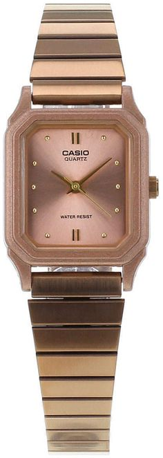 90ff83e444a86 Womens rose gold casio rose gold square watch - rose gold, rose gold from  Topshop - £45 at ClothingByColour.com