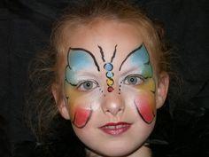 Kinderen schminken, grimeren (kindergrime kinder feest) voor al uw feestjes en evenementen Cheek Art, The Face, Partys, Crafts For Kids, Tattoos, Painting, 5 Mei, School, Baby