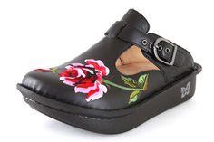 Alegria Embroidered Rose | Alegria Shoes