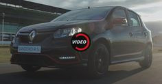 Renault Sandero RS Racing Spirit Looks Cool On The Track #Argentina #commercials