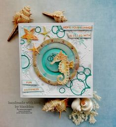 Blankina creations: challenge il murrillo & creative scrapbookers card of the month voting Speckled Eggs, Distress Oxide Ink, Marianne Design, Lawn Fawn, Crystal Drop, I Card, Dream Catcher, Banner, Challenges