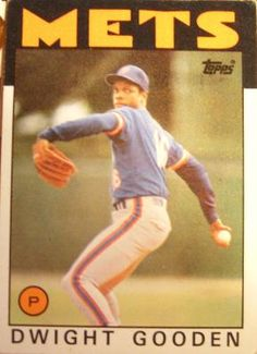 Dwight Gooden 1986 New York Mets  FREE SHIPPING  A485