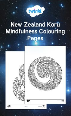 These beautiful Māori koru mindfulness colouring pages will look gorgeous on a display in your class during Matariki celebrations. School Art Projects, Art School, Mindfulness Colouring, Bird Coloring Pages, Maori Designs, Year 9, Daycare Ideas, Fine Motor Skills, Looking Gorgeous