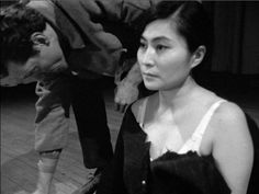 Yoko Ono When She Was Young | In Cut Piece, Yoko Ono asked audience members to snip her clothes away ...