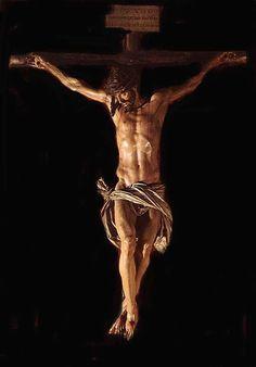 Crucified, dead and buried Cristo-de-la-Clemencia