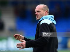 Glasgow Warriors head coach Gregor Townsend during the European Rugby Champions Cup Pool 4 match, between Glasgow Warriors and Toulouse at Scotstoun Stadium on December 13, 2014 in Glasgow Scotland.
