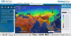 IRENA Offers New Downloadable Wind and Solar Maps on Global Atlas