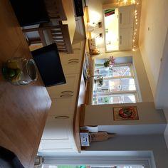 Kitchen diner Kitchens, Desk, Furniture, Home Decor, Desktop, Decoration Home, Room Decor, Kitchen, Writing Desk