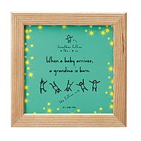 PERSONALIZED A GRANDMA IS BORN TILE|UncommonGoods. For Mom when Austin arrives