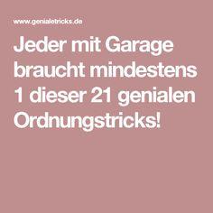Jeder mit Garage braucht mindestens 1 dieser 21 genialen Ordnungstricks!