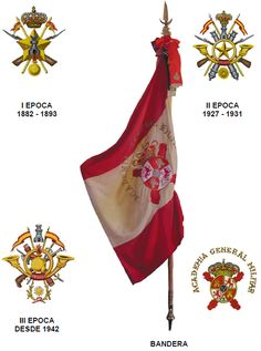 Flags, Rooster, Badge, Spanish, Empire, Symbols, World, Patches, Coat Of Arms