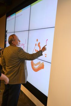 Orlando Library Melrose Center Interactive Wall