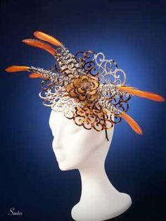 Carey By EUGENIA JIMÉNEZ #millinery #hats #HatAcademy