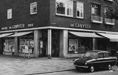 Rotterdam - Schiedamseweg 159 / Grote Visserijstraat. De Gruyter en Daf. . 1971.