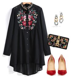 Untitled #3230 by elia72 on Polyvore featuring polyvore, fashion, style, Christian Louboutin, Dolce&Gabbana, John Hardy and clothing #elia72