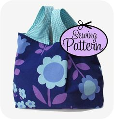 Sewing Pattern to Make a Grocery Bag -