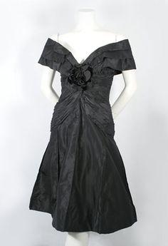 Scaasi cocktail dress