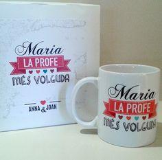 #regalo #taza y caja personalizada  detalle de regalo de #novios #bodas