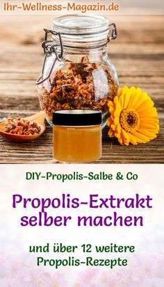Propolis-Extrakt selber machen - Rezept und Anwendungstipps Honey And Co, Forever Living Products, Bee Keeping, Allergies, Herbalism, Bee Hives, Beauty, Diys, Shabby