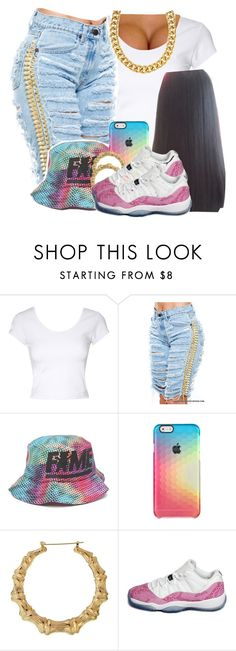 """""""Cute😌💕🌸"""" by jchristina ❤ liked on Polyvore featuring interior, interiors, interior design, home, home decor, interior decorating, Jane Norman, Hall Of Fame, NIKE and Signature Gold"""