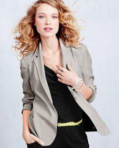 Modern Silk Jacket - Garnet Hill