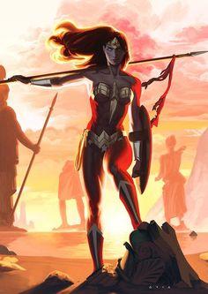 Wonder Woman - Kristafer Anka