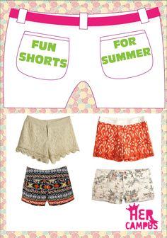 Fun Shorts for Summer
