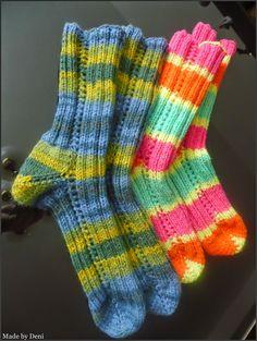 Made by Deni Socks, Fashion, Moda, Fashion Styles, Sock, Fasion, Stockings, Ankle Socks, Hosiery