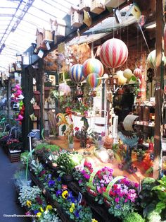 .Such a fun place. The Flower Market and Bird Market on Ile de la Cite in Paris was renamed Marché aux Fleurs - Reine Elizabeth II on June 7, 2014 when the #Queen visited it while in France for the D-Day's 70th anniversary commemorations°°