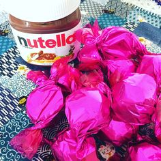 Bombom de chocolate ao leite com #Nutella. #caspita