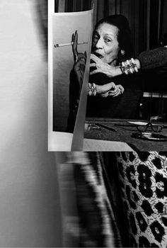 Diana Vreeland, what a magnificent & intriguing women!!!