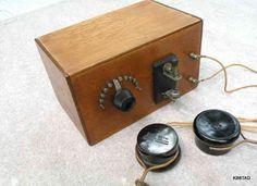 1920s homebrew crystal radio