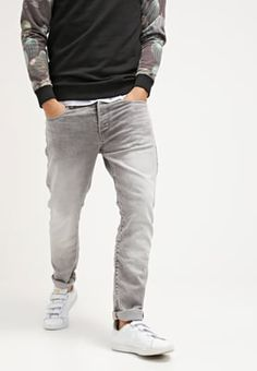 G-Star 3301 TAPERED - Jeans Tapered Fit - kamden grey stretch denim -  Zalando 0804ccfd18