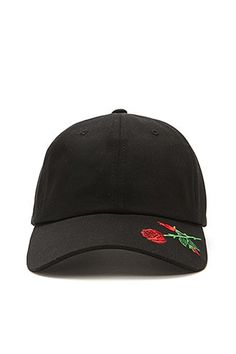 Men Rose Embroidered Dad Cap Gorras 737ff47d2a7