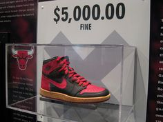 Air Jordan Collection at the Basketball Hall of Fame