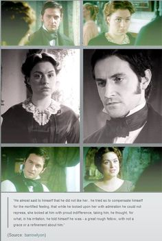 Richard Armitage as Mr. Thornton in North & South with Daniela Denby-Ashe Jane Austen, North And South, Elizabeth Gaskell, Victorian Books, John Thornton, Bbc Drama, Look Back At Me, English Movies, Richard Armitage