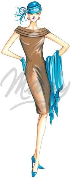 Sewing pattern Dress 2831