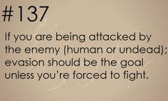 Zombie Apocalypse Survival Tip #137