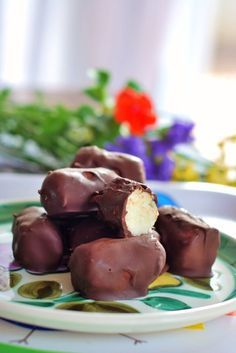 Bombons de coco com cobertura de chocolate amargo – Prestigio Mumsfilibabissimo!
