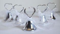 60 x tirabaci cloches mariage Placecard Bell par soleluna2014