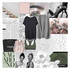 """""""ride, ride, ride, come and vibe with me tonight ☾"""" by girlvlmighty ❤ liked on Polyvore featuring Kenzie, Chanel, Vagabond, Organic by John Patrick and Calvin Klein"""