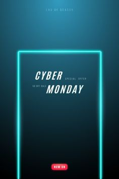 Cyber monday promo design. Download it at freepik.com! #Freepik #vector #banner #sale #light #promotion Neon Light Signs, Neon Signs, Light Background Design, Presentation Backgrounds, Neon Backgrounds, Retro Lighting, Alphabet And Numbers, Text Style, Text Effects