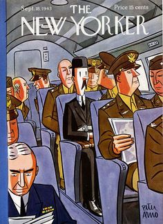 Peter Arno, Cover of The New Yorker, September 18, 1943